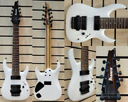 Ibanez 8 String Rg8-white - 2012 First Factory Run-sofort Lieferbar