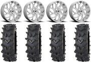 Fuel Runner 20 Wheels Polished 35 Outback Max'd Tires Can-am Maverick X3