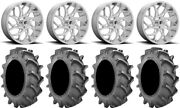 Fuel Runner 22 Wheels Polished 37x8.3 Bkt 171 Tires Can-am Commander Maverick