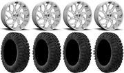 Fuel Runner 20 Wheels Polished 35 Motoclaw Tires Can-am Defender