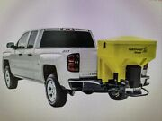 Saltdogg 8.0 Cubic Foot Yellow Polymer Electric Tailgate Spreader 1 Ea