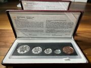 1998 Royal Canadian Mint 90th Anniversary Proof And Antique Coin Sets