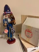 Rare Vintage Steinbach Merlin The Wizard Nutcracker S610 Low Production Number