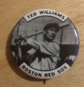 1950's Ted Williams Boston Red Sox Pin