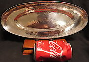 Rare Barbour Silver Co. Sterling Bread Tray,hand,hammered,hand Wrought,hand Made