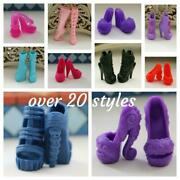 Ever After High And Monster High Doll Replacement Shoes Accessories Heels Boots