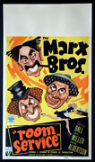 Room Service The Marx Brothers Lucille Ball 1938 Mini Window Card
