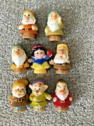Fisher Price Little People Disney Snow White And The Seven Dwarfs Lot 8
