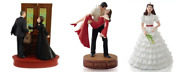 2009 2014 Hallmark Gone With The Wind Ornament Lot Of 3 Frankly My Dear +limited