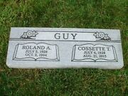 Cemetery Granite Headstone 36 X 12 X 4 Includes Engraving Free Shipping