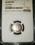 1864 L Rare Indian Head Ngc Certified Au Details, Monster Colors Red, Blue Brown