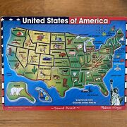 Melissa And Doug Capitals And States Sound Puzzle