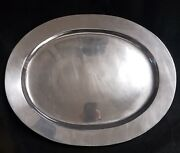 Wilton Armetale Large Oval Platter 19 Made In Usa
