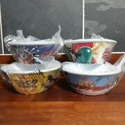 Kelloggs Plastic Cereal Bowls. Limited Edition Collectables. New And Sealed