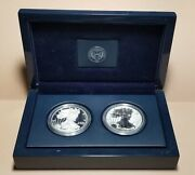 Us Mint 2012 American Eagle 2 Coin Silver Proof Set - San Francisco Mint