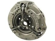Heavy Dual Clutch Assembly Compatible Wd Massey Ferguson Tractor Mf 135 240 12
