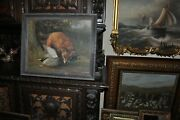 The Most Beautiful Fox And Duck Painting