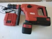 Hilti Te 60 A36 V Atg Hammer Drill Sds Max Very Good Condition Working