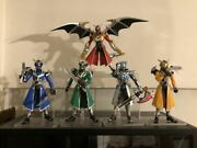 Sh Figuarts Kamen Rider Wizard All Dragon Set And Infinity Style Figures