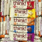 Think Protein Bars 20g Protein You Pick Quantity/flavor Thinkthin Gf