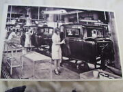 1930 Hudson Assembly Line 11 X 17 Photo Picture