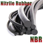 Smooth Solid Nitrile Rubber Cord Round Strip Oil Resistant Nbr Andphi2-30mm Black