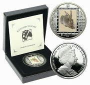 Virgin Islands 2011 Young Hare By Albrecht Durer 10 Silver Proof Coin