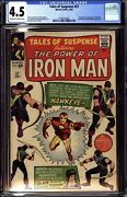 Tales Of Suspense 57 1964 Marvel Cgc 4.5 Vg+ 1st Appearance Hawkeye