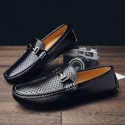 Men Casual Pu Leahter Shoes Slip On Flats Shoes Cheap Moccasins Penny Loafers