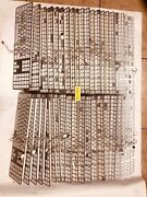 Lot Of 42 Genuine Slim Apple Aluminum Wired Keyboard A1243 For Parts Or Repair