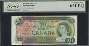 1954 Bank Of Canada 1000 Banknote Pcgs Au 55 Ppq - Catbc-44a