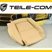 New Porsche 970 Panamera Cushion Cover Without Heater/leather Luxor Beige Right