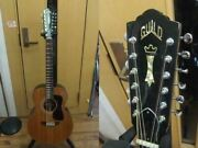 Guild F112nt Natural Folk Vintage Acoustic Guitar Shipped From Japan