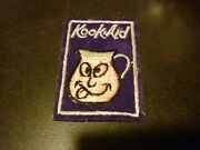 1970andrsquos Wacky Packages Cloth Patch Kook Aid Kool Aid Spinoff Rare Vintage