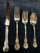 Towle Old Master Sterling True Dinner Size Set For 8 X 4