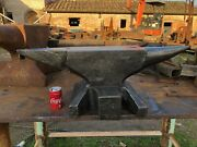 Wonderful Small Forged 237 Pound German Blacksmith Anvil Strong Marked Sandh
