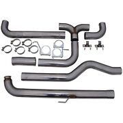 S8000409 Mbrp Exhaust 4 Down Pipe Back Dual Smokers Incl. Front Pipe, T409
