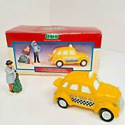 Lemax Village Collection 1999 Taxi Al's Cab 93301 Co. Poly Resin Accessories Vi
