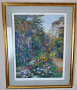 Henri Plisson - The Greenhouse Signed And Numbered Framed Serigraph 169/300