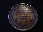 Vermont Grand Lodge Of F And A.m 1894 Centennial Commemorative Medal