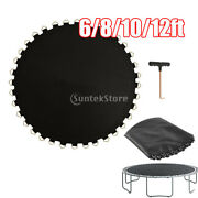 Trampoline Mat Round Frame Bounce Bed Pad 6ft-36 Buckle Andpulling Tool