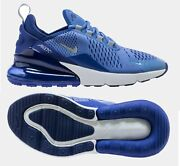 Nike Air Max 270 Athletic Shoes Size 7 Y/womenandrsquos 8.5 Storm/silver 943346-402