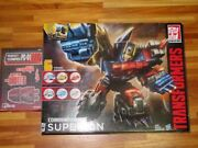 Hasbro Transformers Combiner Wars Superion And Pc-01 Upgrade Set Black Ver. Figure