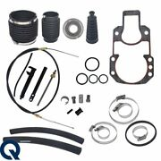 For Mercruiser Alpha One Transom Seal Bellow Kit With Lower Shift Cable Gen 1