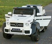 Mercedes Benz G63 Kids Ride Battery Powered Electric Car W/remote Control
