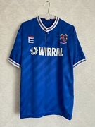 Tranmere Rovers Third Football Shirt 1989 1991 Wirral Vintage Rare Size 42/44
