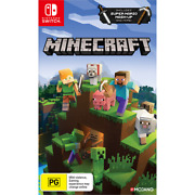 Minecraft Nintendo Switch And Switch Lite Includes Super Mario Mash-up - New