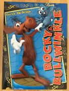 Rare Electric Tiki Rocky And Bullwinkle Teeny Weeny Mini Maquette 001