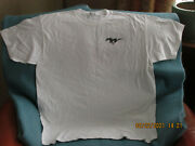Ford Mustang T-shirts Xl New/never Worn Lot Of Five 5 Ford Marketing