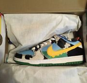 Size 8 - Nike Sb Dunk Low Ben And Jerryand039s Chunky Dunky Black/gold/lagoon
